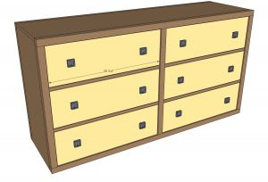 dresser woodworking plans