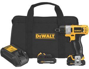 DEWALT DCF610S2 12 Volt Max Screwdriver Kit