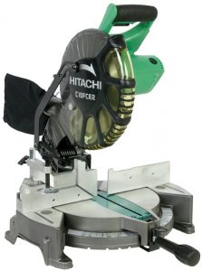 Hitachi C10FCE2 15 Amp 10 inch Single Bevel Compound Miter Saw