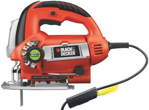 Black & Decker JS670V LineFinder Orbital Jig Saw with SmartSelect Technology