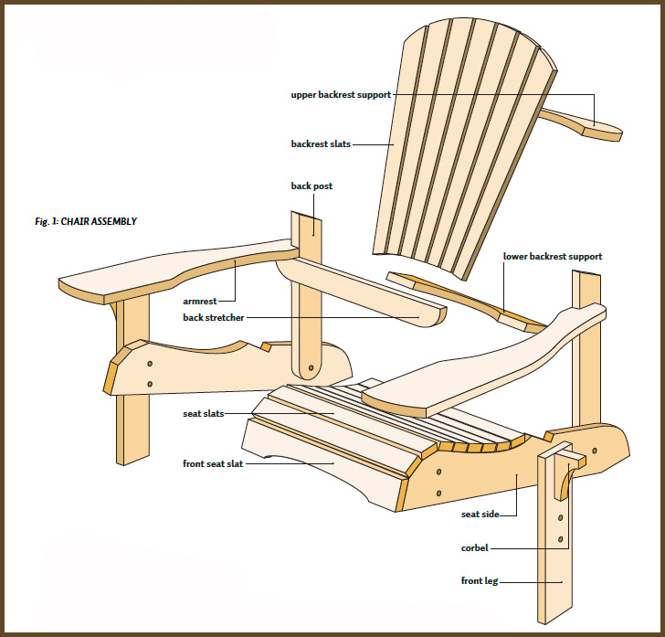 Make The Best Plans. Adirondack Chair Woodworking Plans