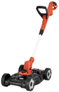 BLACK+DECKER MTE912 12 Inch Electric 3 in 1 Trimmer Edger and Mower