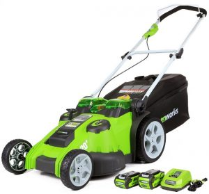 Lawn Mower Reviews - GreenWorks 25302 Lawn Mower
