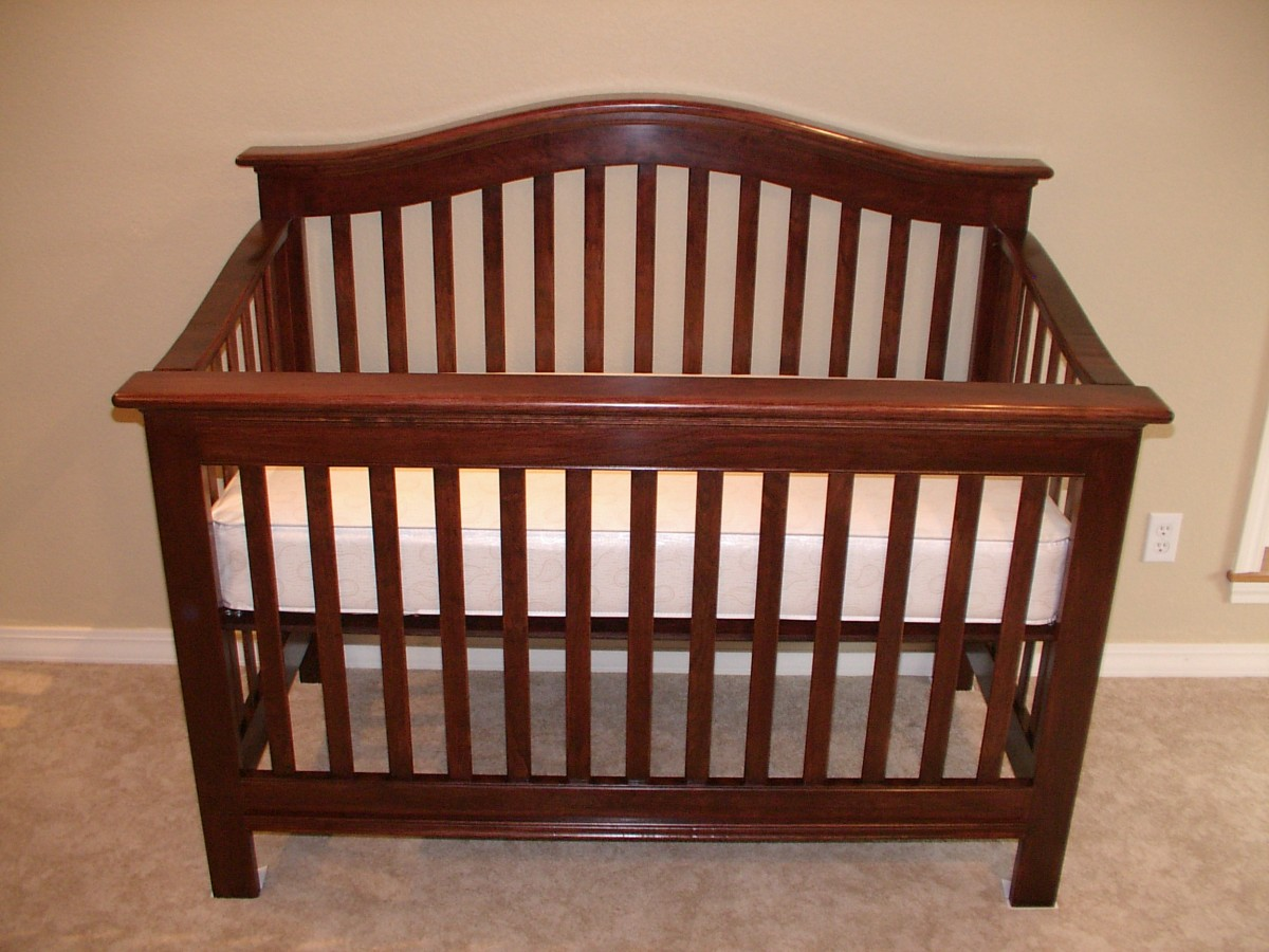 How to make baby crib woodworking plans - Baby crib for small spaces plan ...
