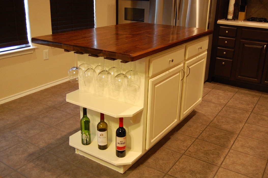 kitchen island woodworking plans