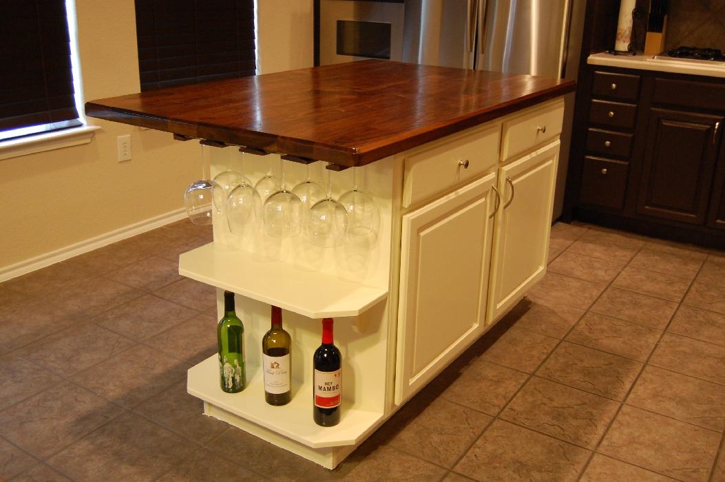 kitchen island woodworking plans