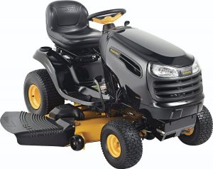 Lawn Tractor VS Riding Mower - Poulan Pro 960420174 PB24VA54 Auto Drive Cutting Deck Riding Mower