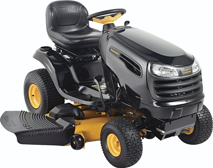 Lawn Tractor VS Riding Mower - Poulan Pro 960420174 PB24VA54 Auto Drive Cutting Deck Riding Mower