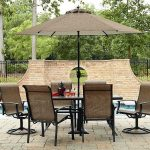 Triple Perfect 7 Piece Outdoor Dining Set
