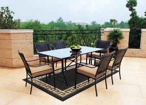 Braddock Heights 7-Piece Patio Dining Set, Seats 6