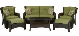 Hanover Strathmere 6-Piece Patio Seating Sets