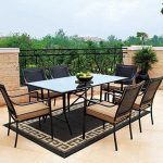 Modern 7 Piece Patio Dining Set for Special Home Decor