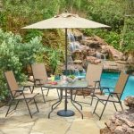 Three Options of Outdoor Patio Dining Sets