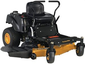 Poulan Pro 967331001 P54ZX Briggs V-Twin Pro 24 HP Cutting Deck Zero Turn Radius Riding Mower